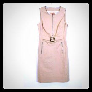 Tory Burch Alice Tan Buckle Dress Size 6